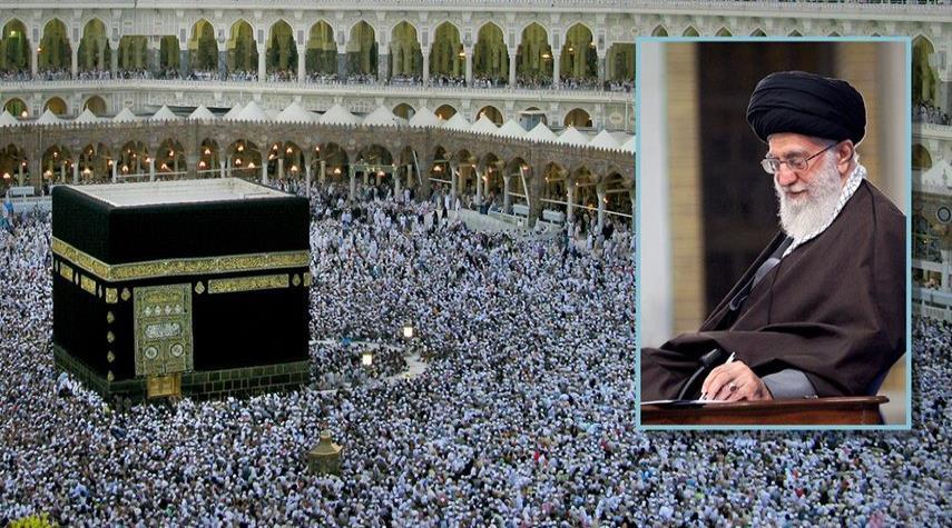 نداء قائد الثورة لحجاج بيت الله الحرام