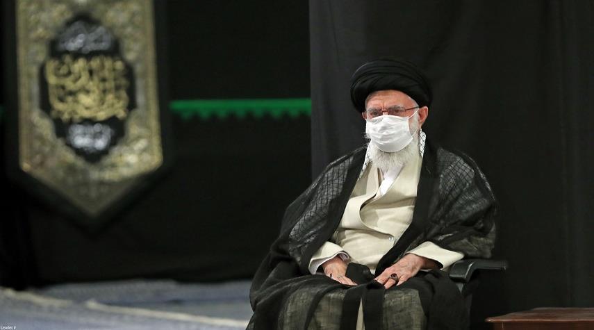 اقامة مراسم عزاء في ذكرى استشهاد الامام السجاد (ع) بحضور قائد الثورة الاسلامية