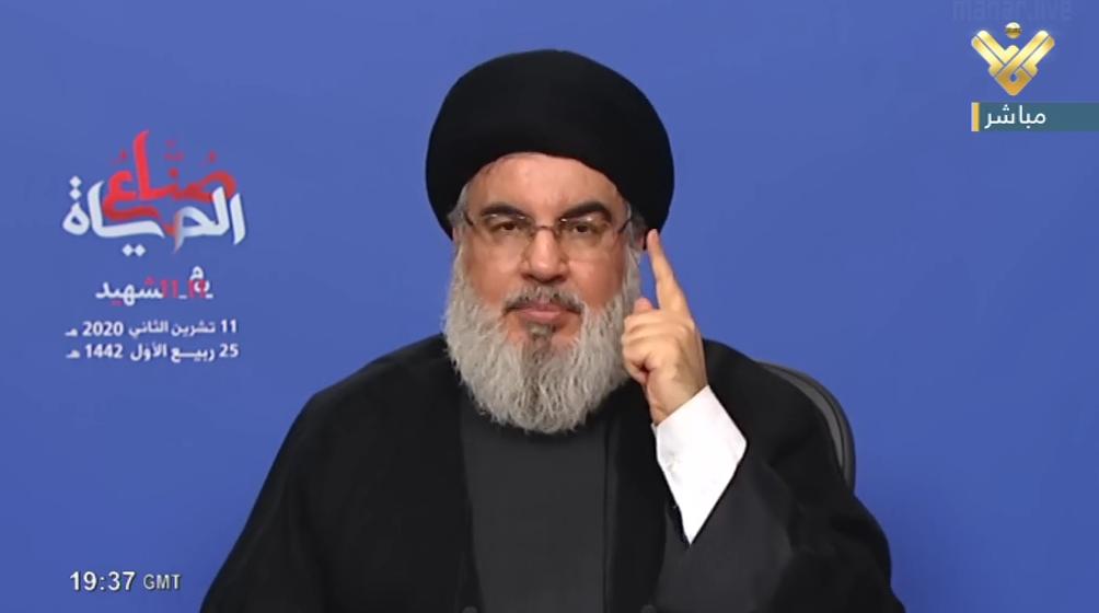 السيد نصر الله: الشهداء حجة الله علينا ويجب ان نحافظ على تضحياتهم