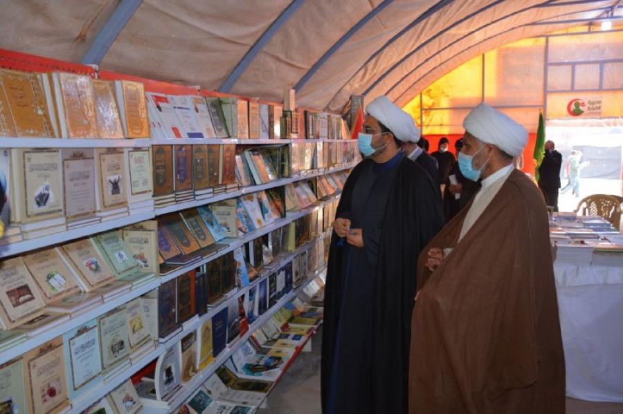 جناح متميز للعتبة العلوية ضمن فعاليات مهرجان الشهادة السنوي العاشر في محافظة واسط