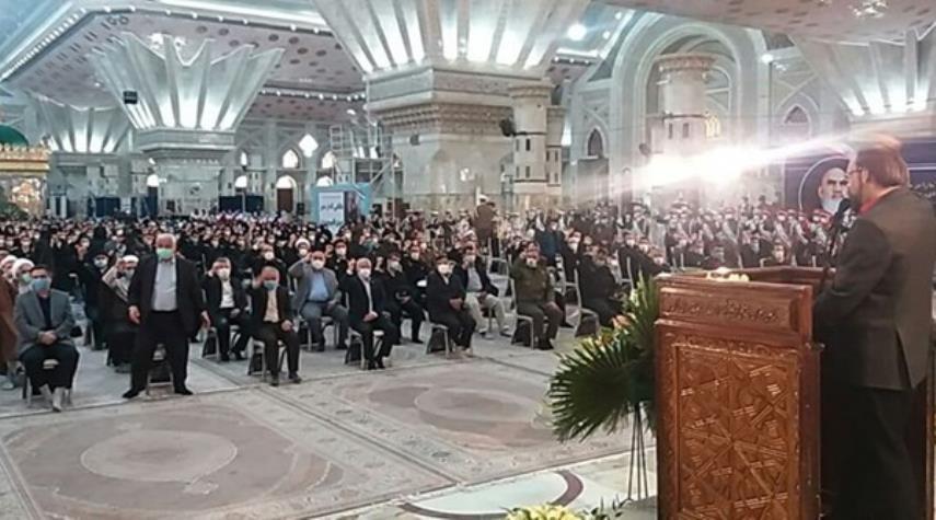 بدء مراسم احياء عشرة الفجر في مرقد الامام الخميني (رض)