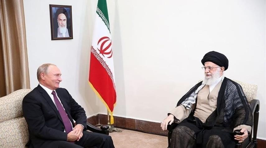 تفاصيل عن الرسالة الإستراتيجية الموجهة من قائد الثورة الاسلامية الى بوتين