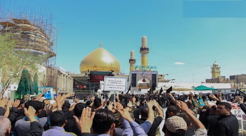 سامراء تشهد حضورا مليونيا في ذكرى استشهاد الإمام علي الهادي(ع)