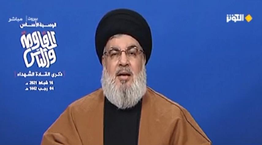 السيد حسن نصرالله : شعب البحرين المظلوم لازال يناضل حتى اليوم