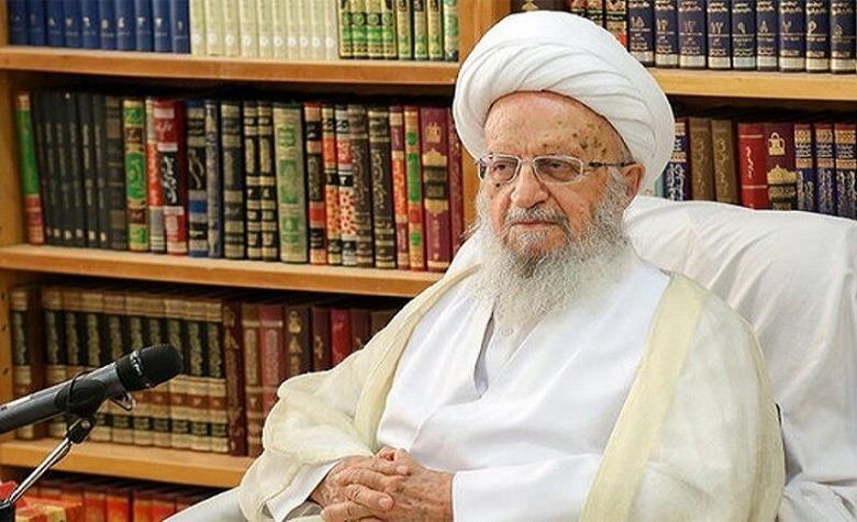 المرجع الديني الشيخ مكارم شيرازي يرقد في المستشفى