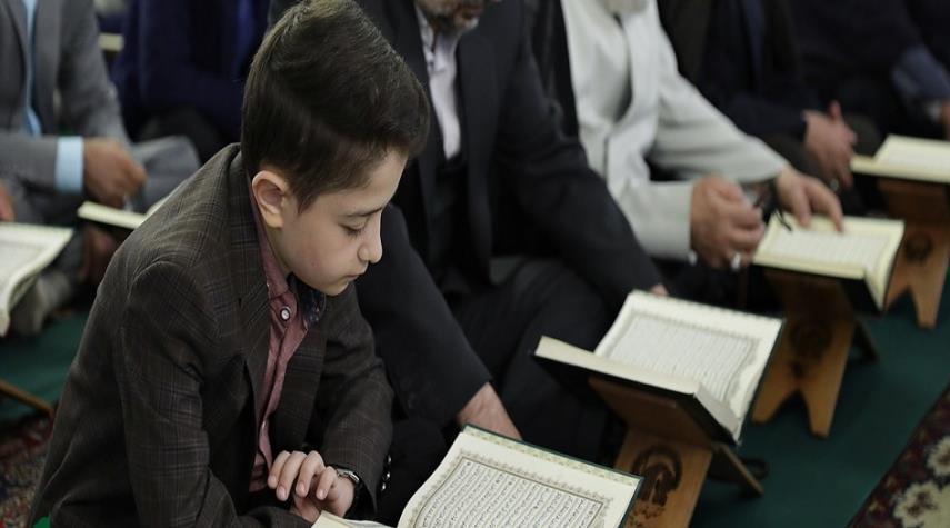 بالتزامن مع شهر رمضان… أكبر تجمع قرآني لليافعين في العتبة الرضوية