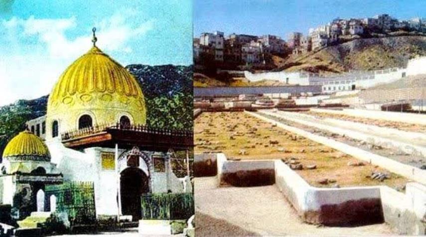 لماذا قام الوهابية بهدم قبر السيدة خديجة (ع)؟