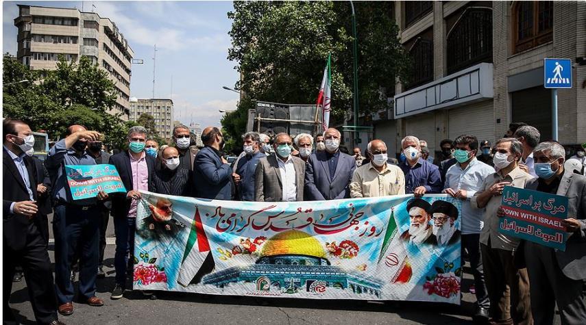 مراسم إحياء يوم القدس العالمي في إيران