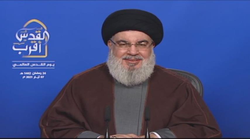 السيد حسن نصرالله: لن نتساهل مع أي عدوان إسرائيلي على لبنان وكل ما يجري في مصلحة محور المقاومة