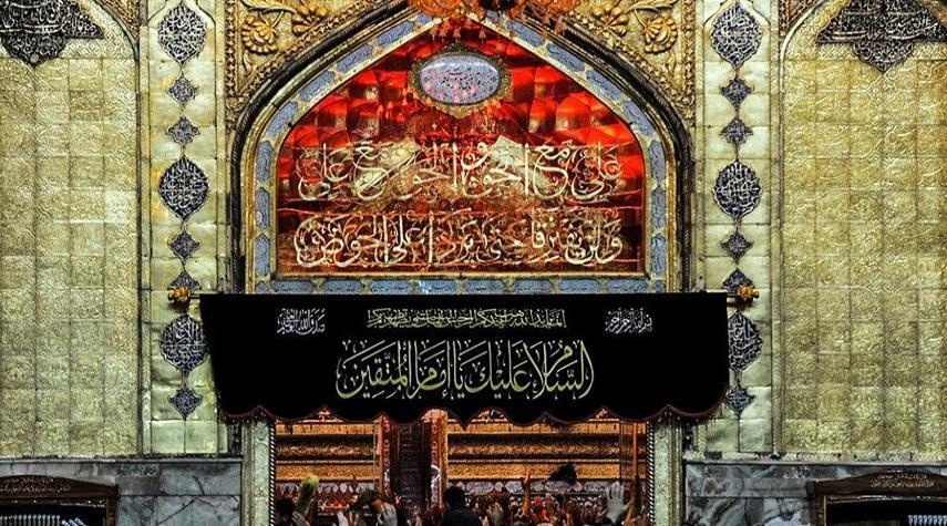 صعصعة يؤبّن الإمام علي (ع) عند دفنه
