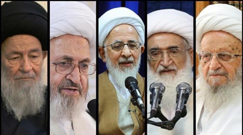 مراجع الدين يدعون للمشاركة المهيبة في الانتخابات الايرانية
