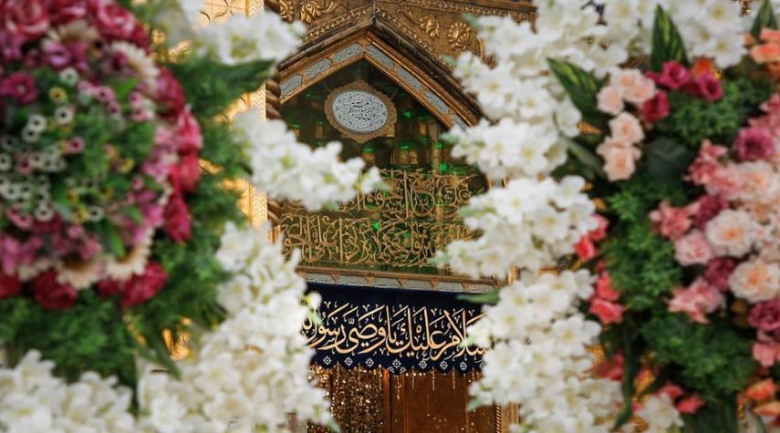 بمناسبة عيد الغدير الاغر… العتبة العلوية المقدسة تتزين