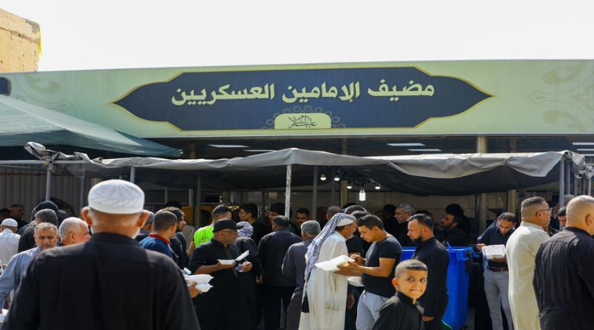توزيع أكثر من 1,750,000 وجبة طعام خلال زيارة الإمام العسكري (ع)